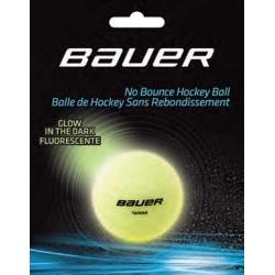 Balle Bauer Hockey fluorescente