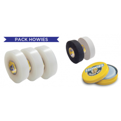 Pack Howies 3 Scotchs + 2 Tapes 25 + 1 Wax