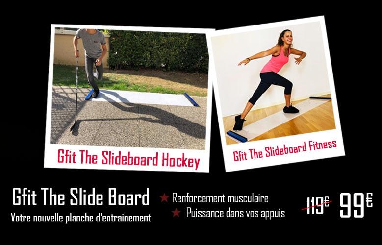 Gfit Slide Board Entrainement - Promoglace France